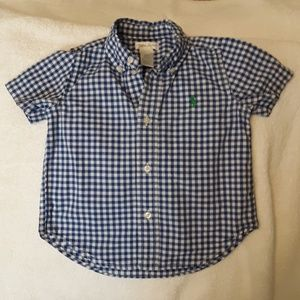 Talph Lauren Boys Toddler shirt